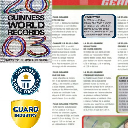 Guinness Book 2003 - Guard Industries